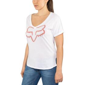 Fox Responded Rl V-Neck SS Shirt Damen white
